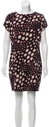 Saint Laurent Star Print Mini Dress