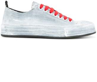 Ann Demeulemeester painted low-top sneakers