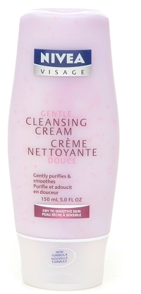 Nivea Gentle Cleansing Cream, Dry to Sensitive Skin