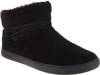 Koolaburra By Ugg by UGG Faux Fur Ankle Boots with Tie - Isana