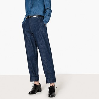 """La Redoute COLLECTIONS Regular Pleat Front Jeans, Length 29"""""""
