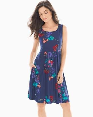 Bliss Knit Cross Back Short Dress