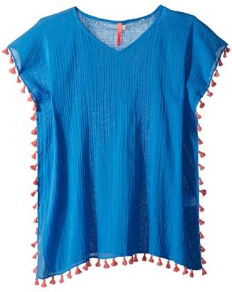 Seafolly Summer Essentials Kaftan Cover-Up Girl's Swimwear