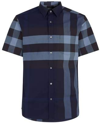 Burberry Oversized Check Shirt