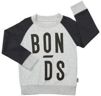Bonds Kids Cool Sweats Logo Pullover