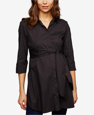 Isabella Oliver Maternity Tie-Front Blouse
