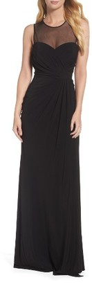 Women's Vera Wang Draped Gown $298 thestylecure.com