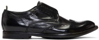 Officine Creative Black Anatomia 3 Loafers