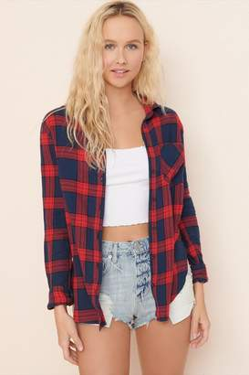 Garage Flannel Girlfriend Shirt