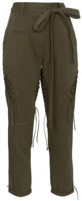 Saint Laurent Laced Military Pants
