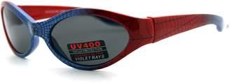 Spiderman PASTL Kid's Sunglasses Spidey Spider Web Oval Frame Boys 3+