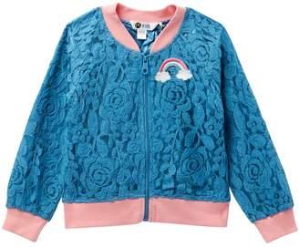 Petit Lem Lace Jacket (Toddler & Little Girls)