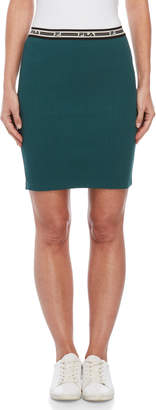 Fila Cathy Ribbed Knit Pencil Skirt