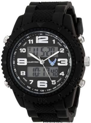 Wrist Armor Men's 37300005 C27 Analog-Digital Display Quartz Watch with Rubber Strap