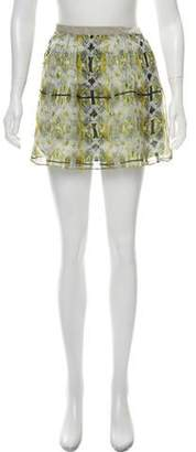 Theyskens' Theory Silk Mini Skirt