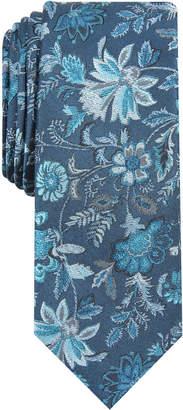 Bar III Men Passaid Floral Skinny Tie