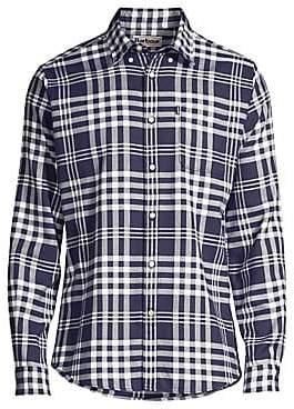 Barbour Men's Nautical Endsleigh Check Button-Down Shirt