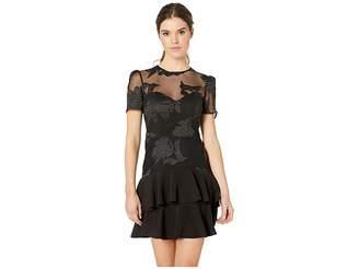 Bardot Flower Frill Dress