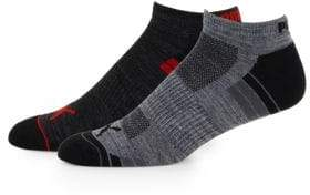 Puma Two-Pack Ribbed Ankle Socks