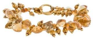 Laura Gibson Opal & Citrine Bead Bracelet