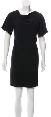 The Row Short Sleeve Mini Dress