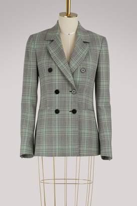 MSGM Check blazer jacket