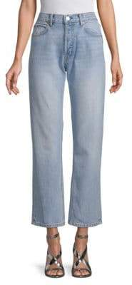 Helmut Lang Cropped Straight Jeans