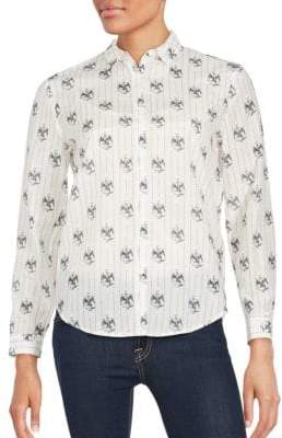 The Kooples Blended Silk Shirt