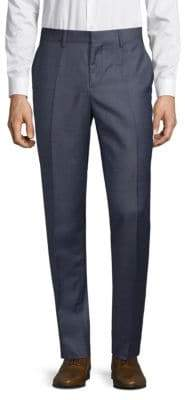 J. Lindeberg Slim-Fit Wool Trousers
