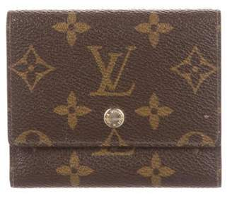 Louis Vuitton Vintage Business Card Holder Brown Vintage Business Card Holder