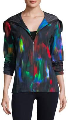 Y-3 Women's Multicolored Hooded Jacket