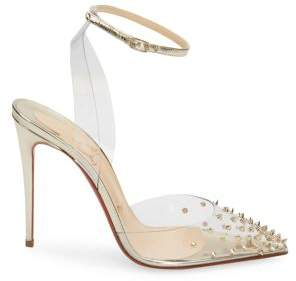 Christian Louboutin Spikko 100 Studded Pumps