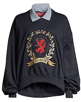 Tommy Hilfiger Tommy Tommy Women's Collegiate Collared Sweater