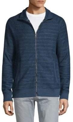 HUGO BOSS Textured Cotton Sweater