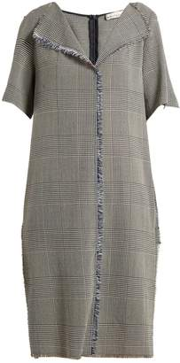 Golden Goose Luciana Prince of Wales-checked dress