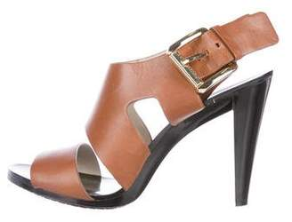 MICHAEL Michael Kors Leather Ankle Strap Sandals