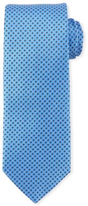 Eton Mini Coffee Bean-Pattern Silk Tie