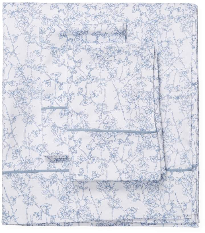 Cherry Blossoms Cotton Sheet Set