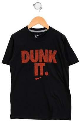 Nike Boys' Embellished Crew Neck T-Shirt