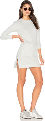 C & C California Marlow Sweatshirt Dress $149 thestylecure.com