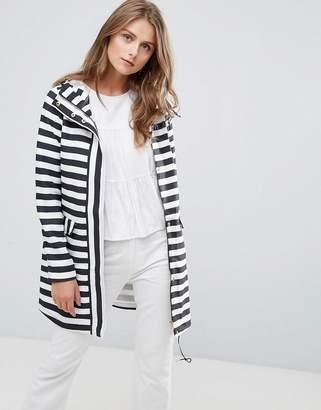 Vero Moda Stripe Raincoat