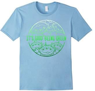 Disney Pixar Toy Story Pizza Aliens Good Being Green T-Shirt