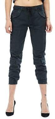 Hudson Solid Cropped Pants