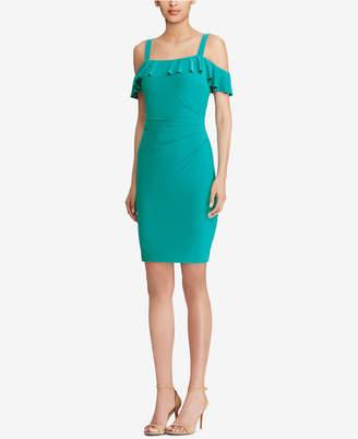 American Living Cold-Shoulder Dress