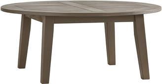 Inspire Q Torrey Pines Wood Patio Round Coffee Table