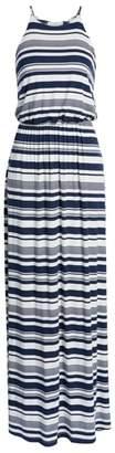 --- High Neck Maxi Dress