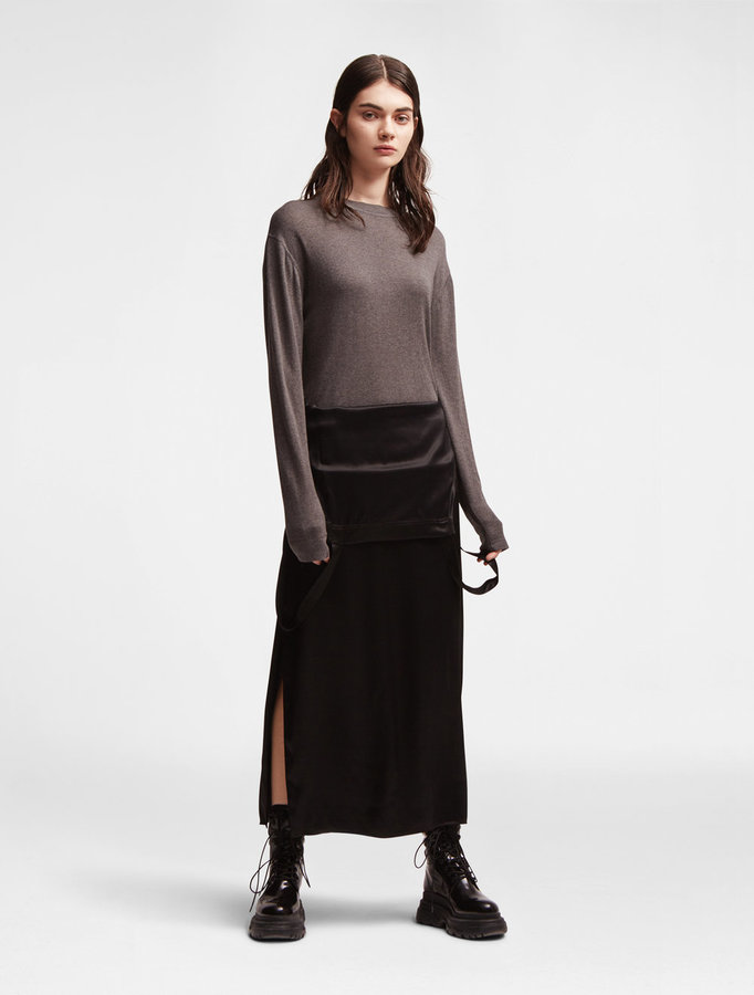 DKNY Dkny Pure Wool Silk Pullover