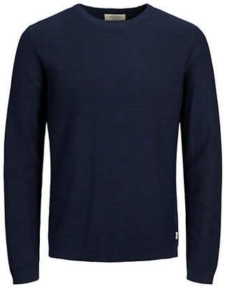 Jack and Jones Classic Crewneck Cotton Sweater