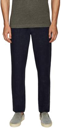 Etro Men's Linen Solid Slim Jeans