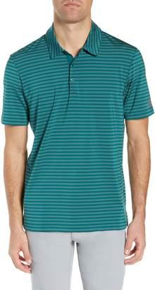adidas GOLF Ultimate 365 Two-Color Stripe Polo Shirt